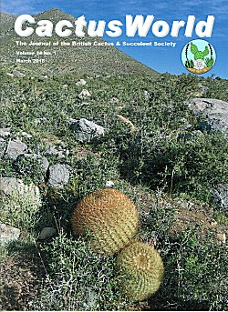Cover of CactusWorld 2016-1