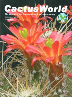 Cover of CactusWorld 2016-2