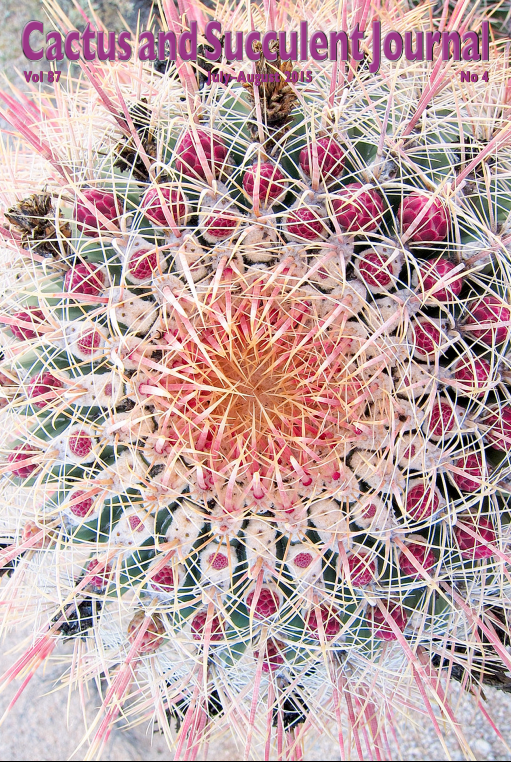 Cover of Cactus and Succulent Journal (USA) Vol 87-4