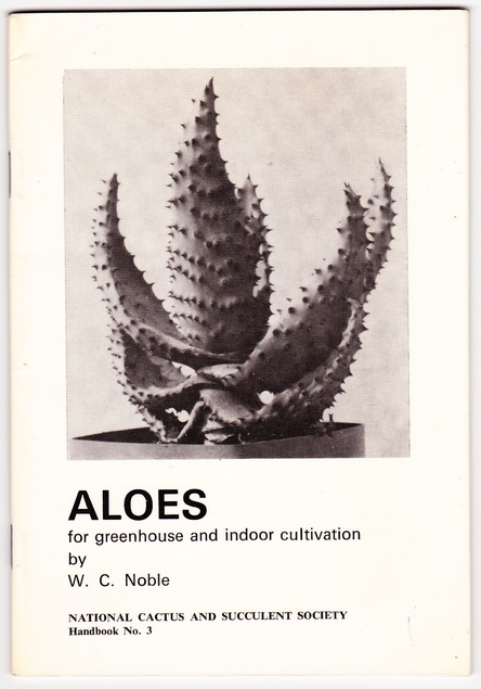Cover of Aloes